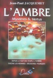 Ambre Mysteres Et Vertus - Intérieur - Format classique