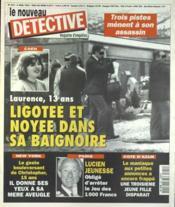 Nouveau Detective (Le) N°655 du 06/04/1995 - Couverture - Format classique