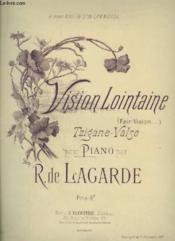 Vision Lointaine - Tzigane Valse Pour Piano. - Couverture - Format classique