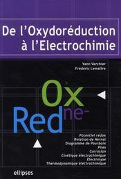 De l'oxydoréduction à l'électrochimie - Intérieur - Format classique