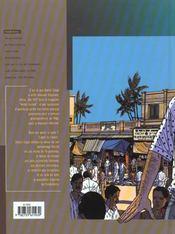 Stephane clement t.7 ; pondicherry filiation fatale - 4ème de couverture - Format classique
