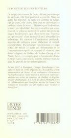 La Neige Et La Faute - 4ème de couverture - Format classique