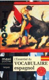 L'essentiel du vocabulaire espagnol - Couverture - Format classique