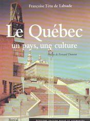 Le Quebec : Un Pays, Une Culture (Ne) - Intérieur - Format classique