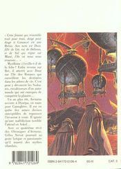 Le Chroniques D'Arcturus T.4 ; Les Ssahanis - 4ème de couverture - Format classique