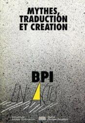 Mythes, Traduction Et Creation : La Litterature De Jeunesse En Europe - Couverture - Format classique