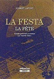La Festa La Fete - Couverture - Format classique