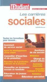 Les carrières sociales - Couverture - Format classique