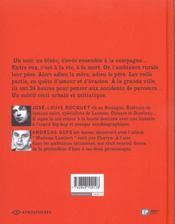 Frere De Lait - 4ème de couverture - Format classique