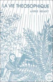 Vie theosophique - Couverture - Format classique