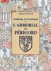 Additions A L'Arm.Perigord - Couverture - Format classique
