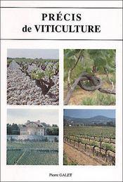 Précis de viticulture (7e édition) - Couverture - Format classique