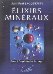 Élixirs minéraux - Intérieur - Format classique