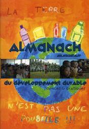 Almanach du développement durable - Intérieur - Format classique