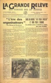 Grande Releve (La) N°23 du 01/09/1947 - Couverture - Format classique