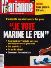 Marianne N°770 du 21/01/2012 - Couverture - Format classique