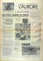 Aurore (L') N°9012 du 22/08/1973 - Couverture - Format classique