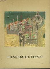 Fresques De Sienne - Couverture - Format classique