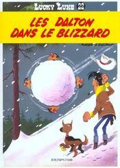 Lucky Luke t.22 ; les Dalton dans le blizzard - Intérieur - Format classique