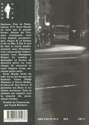 Moody blues - 4ème de couverture - Format classique