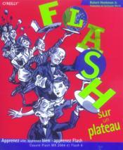 Flash Sur Un Plateau - Couverture - Format classique