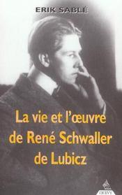 La Vie Et L'Oeuvre De R.A Schwaller De Lubicz - Intérieur - Format classique