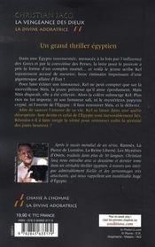 La Vengeance Des Dieux T.2 ; La Divine Adoratrice - 4ème de couverture - Format classique