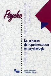 Le concept de représentation en psychologie - Intérieur - Format classique