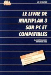 Livr.Multplan3 Sur Pc - Couverture - Format classique