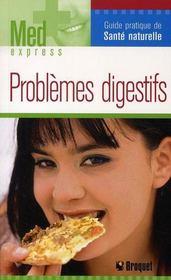 Problèmes digestifs - Intérieur - Format classique