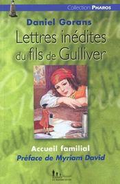 Lettres Inedites Du Fils De Gulliver - Intérieur - Format classique