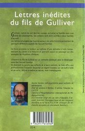 Lettres Inedites Du Fils De Gulliver - 4ème de couverture - Format classique