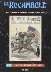 Revue Rocambole N.15 ; Les Aventuriers Du Pöle Nord - Couverture - Format classique