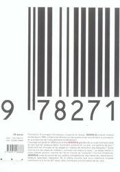 Design Et Prix - 4ème de couverture - Format classique