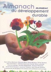 Almanach Burgeap Du Developpement Durable - Intérieur - Format classique