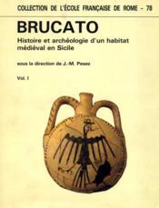 Dir. Brucato: histoire et archéologie d'un habitat médiéval en Sicile. - Couverture - Format classique