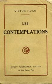 Les Contemplations. - Couverture - Format classique