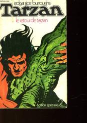 Le Retour De Tarzan - Couverture - Format classique
