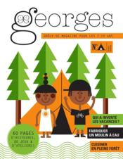 Vente livre :  MAGAZINE GEORGES N.34 ; camping  - Magazine Georges