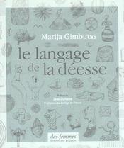 Le Langage De La Deesse - Intérieur - Format classique