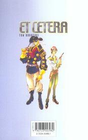 Et cetera t.5 - 4ème de couverture - Format classique