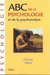 ABC de la psychologie et de la psychanalyse - Intérieur - Format classique