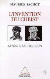 L'Invention Du Christ - Couverture - Format classique