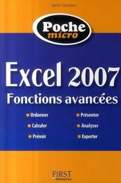 Micro excel 2007 ; fonctions avancées - Intérieur - Format classique