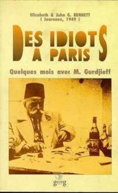 Des idiots a paris - Couverture - Format classique