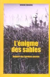 Enigme Des Sables - Intérieur - Format classique