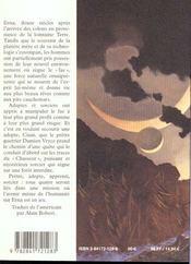 L Aube Du Soleil Noir 1 - 4ème de couverture - Format classique
