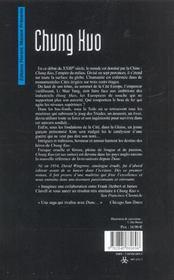 Chung kuo - 4ème de couverture - Format classique