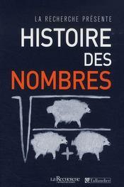 Histoire des nombres - Intérieur - Format classique