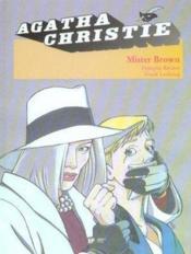 Agatha Christie t.5 ; mister Brown - Couverture - Format classique